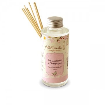 100ml Fragrance Diffuser Refill Pink Grapefruit & Champagne