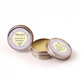 Organic lip balm Lavender and bergamot