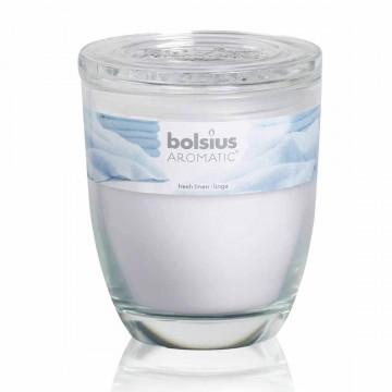 Bolsius Large scented jar Fresh linen