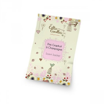 Scented sachets Pink grapefruit and champagne