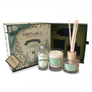 Celtic classic gift box Christmas tree